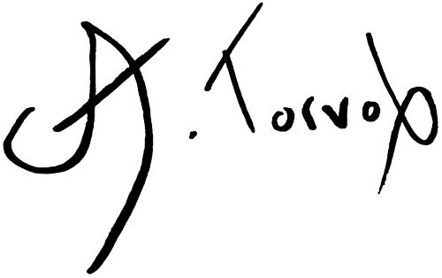 Asbjorn Torvol Signature