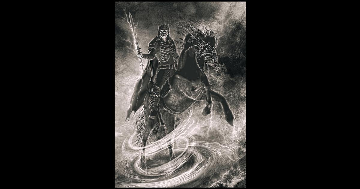 Lucifer Lord Of The Air Occult Demon Art Asenath Mason
