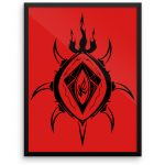 sample-12x16-Lucifer----The-Lord-of-Flames_mockup_Wall_Wall_18x24
