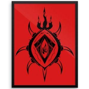 thumbnail-12x16-Lucifer----The-Lord-of-Flames_mockup_Wall_Wall_18x24