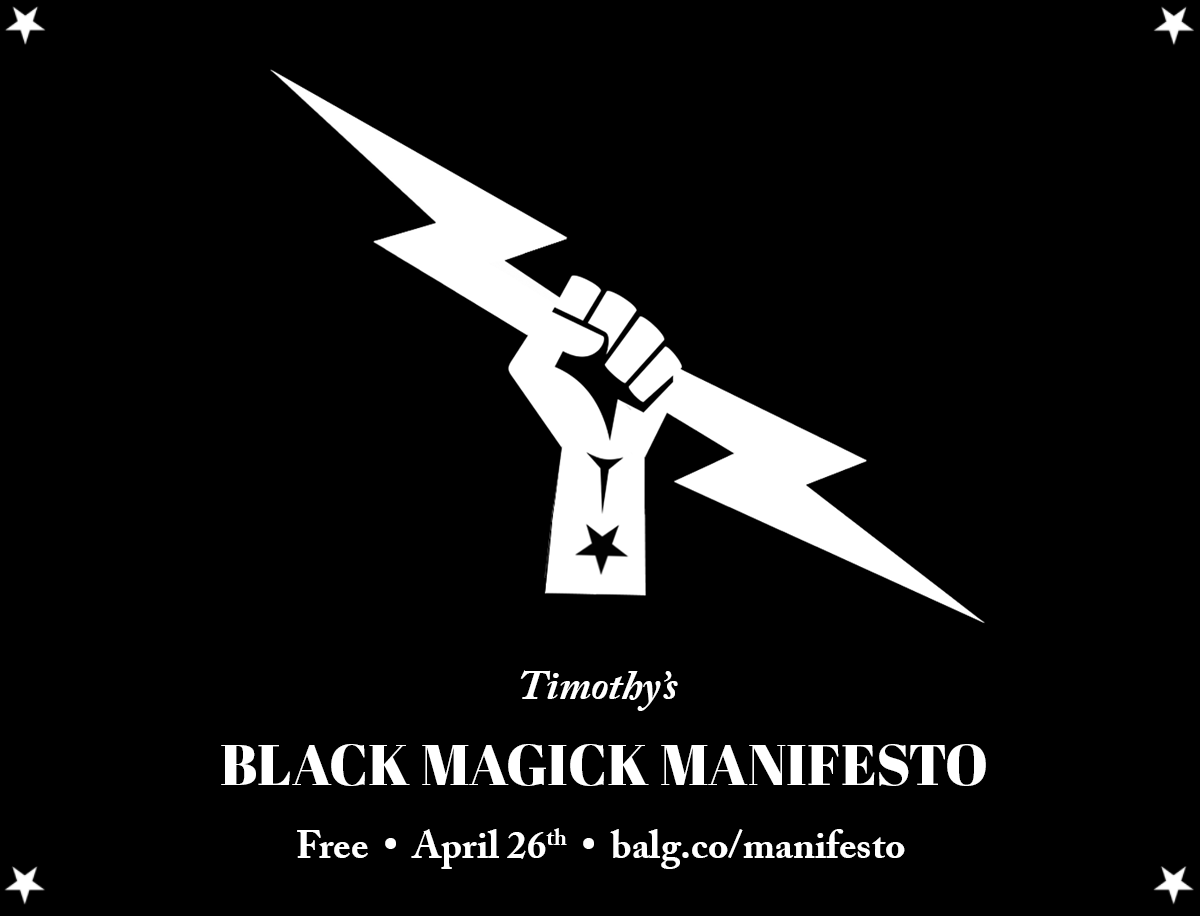 Black Magick Manifesto by Timothy
