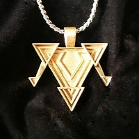 Trinity of Triangles Amulet - S. Ben Qayin