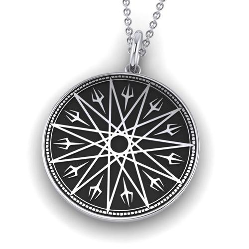 Qliphothic Star Amulet by Asenath Mason
