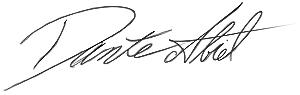 Dante Abiel Signature