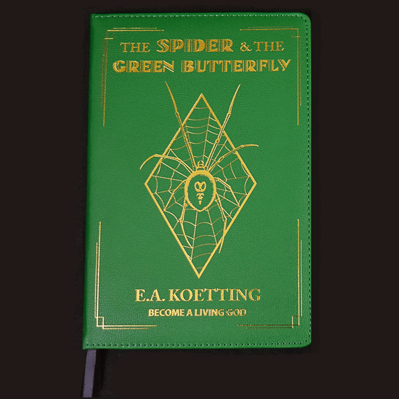 The Spider & The Green Butterfly - E.A. Koetting - Leather