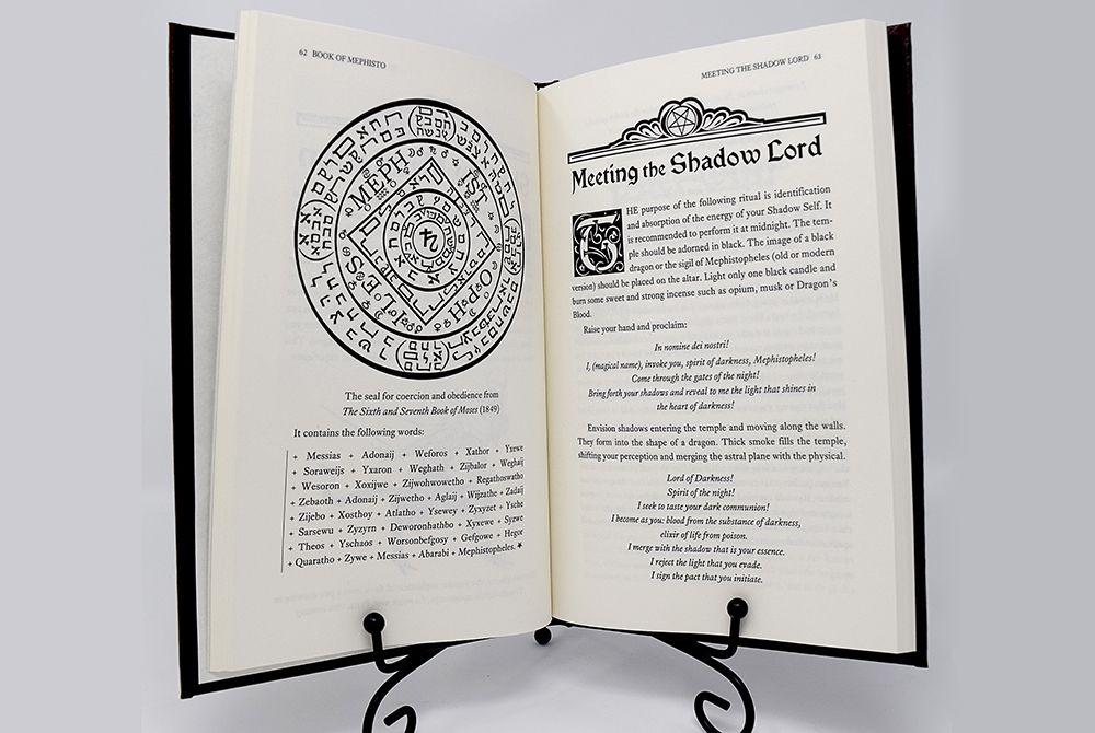 The Book of Mephisto | Asenath Mason | Become A Living God
