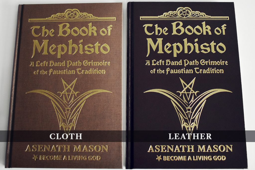 The Book of Mephisto | Asenath Mason | Become A Living God