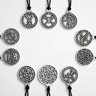 The Complete God Star Amulets